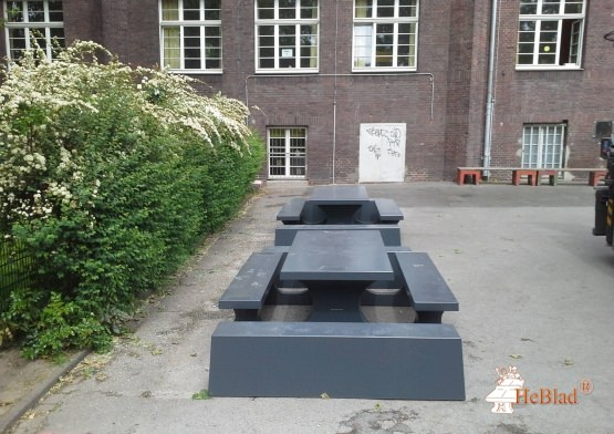 Concrete Bench Standard Anthracite
