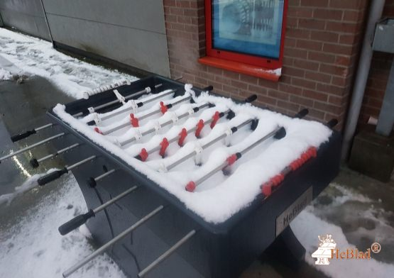 Concrete Table Football Table Anthracite