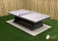 Ping-pong table Anthracite-Concrete