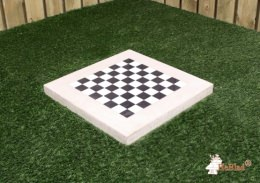 Chess Tile, natural concrete