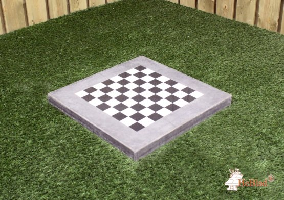 Chess Tile Anthracite-Concrete