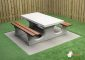 Concrete Picnic table DeLuxe