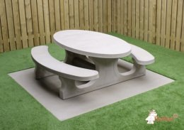 Picnic table Standard Oval