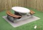 Picnic table DeLuxe Oval