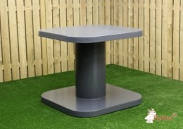 Standing table anthracite