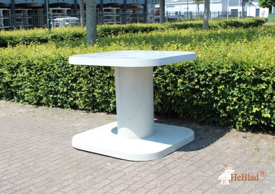 High Table Natural Concrete