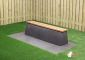 Concrete Bench DeLuxe, Anthracite-Concrete