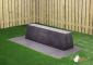 Concrete Bench Standard, Anthracite-Concrete