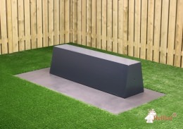 Concrete Bench Standard in anthracite design