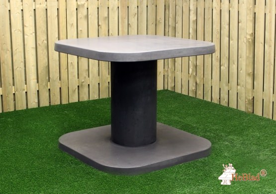 High Table Anthracite-Concrete