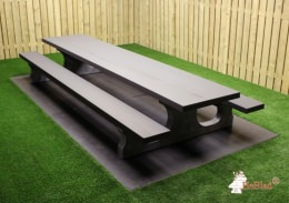 Picnic table  Standard XL Anthracite-Concrete