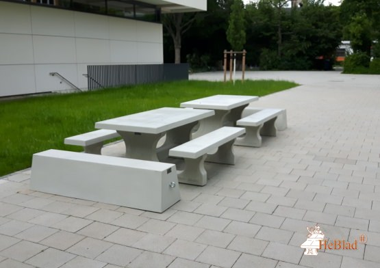 Picnic table Standard Natural Concrete